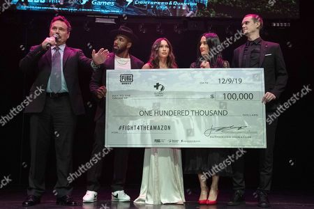 Editorial image of PUBG Mobile's #FIGHT4THEAMAZON Party, Los Angeles, USA - 09 Dec 2019