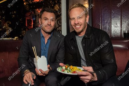 Stock Image of Brian Austin Green and Ian Ziering