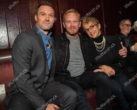 Brian Austin Green, Ian Ziering and Gabrielle Carteris