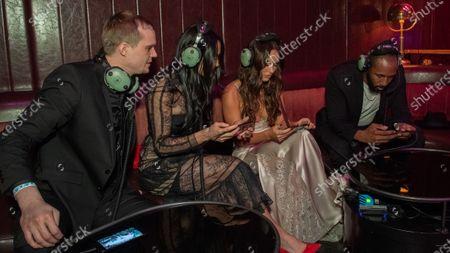 """Pickles"" aka Jon Miears, Nikki Bella, Megan Fox and Stephen ""tWitch"" Boss"