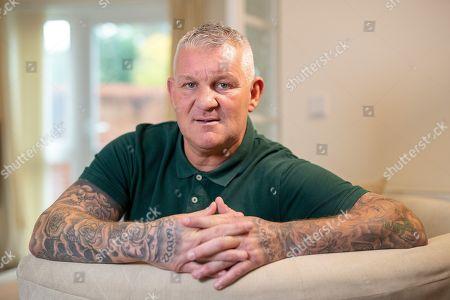 Stock Image of Dean Windass Talks To Ian Herbert.  Nov 1st 2018 - Hull  UK  - Ex-hull Windass -.