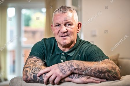 Stock Picture of Dean Windass Talks To Ian Herbert.  Nov 1st 2018 - Hull  UK  - Ex-hull Windass -.