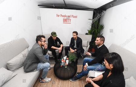 Mesut Oil And Mathieu Flamini Interview With Sami Mokbel;  6/11/18:.