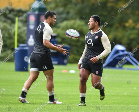 Stock Picture of Manu Tuilangi .  England Rugby Training Ahead Of Saturdays Game Against New Zealand