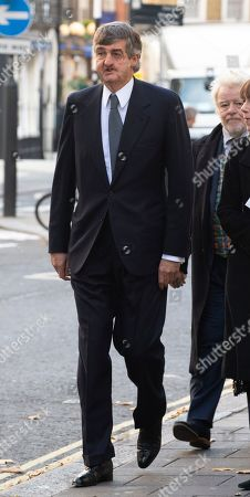 Robin Birley Second Husband Of Lucy Birley Socialite/model At Her Memorial Service At Farm Street Church In Mayfair.  Lucy Birley Memorial Service .  . 14. 11. 18.