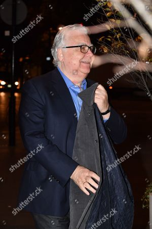Bill Kenwright Leaving Meal For Richard Scudamore Ceo Of Premier League At The German Gymnasium Kings Cross London.