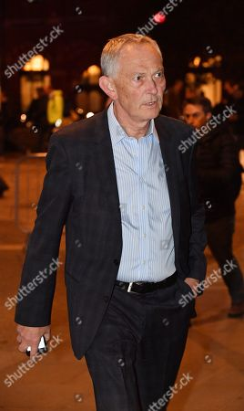 Richard Scudamore Outgoing Executive Chairman Of The Premier League Arrives At The German Gymnasium Kings Cross London For His Private Leaving Party.