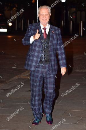 David Gold Leaving Meal For Richard Scudamore Ceo Of Premier League At The German Gymnasium Kings Cross London.