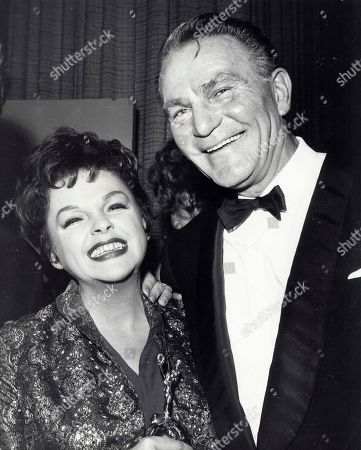 Judy Garland with Henry Wilcoxon 1962