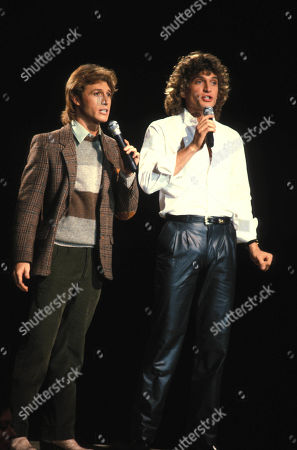 Andy Gibb and Rex Smith 1981