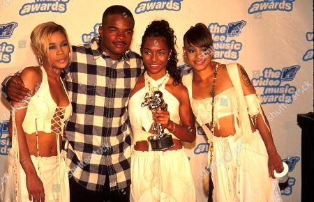 9/795 - New York City F Gary Grey and Tlc at the Mtv Video Music Awards