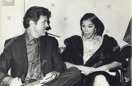 Robert Culp with France Nuyen