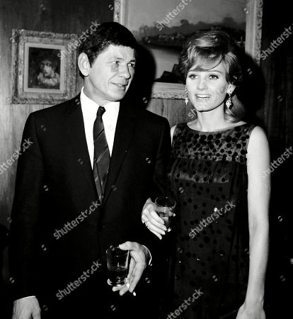 Editorial picture of Charles Bronson and Jill Ireland
