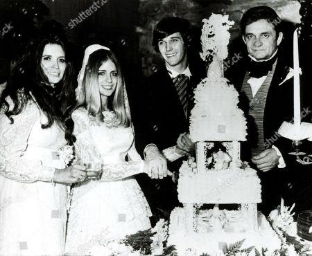 Johnny Cash June Carter Carlene Carter and Joseph Ray Simpkins