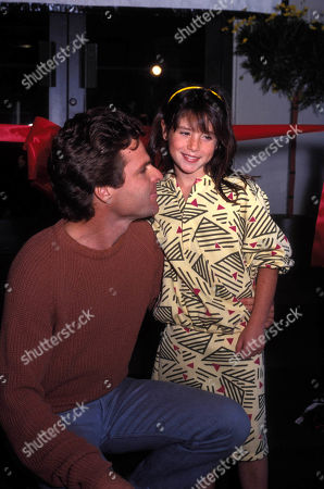 Stock Photo of Joseph Bottoms and Soleil Moon Frye