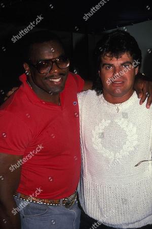Reggie Mcelroy and Mark Gastineau