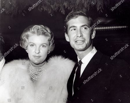 Anthony Perkins and Elaine Stritch
