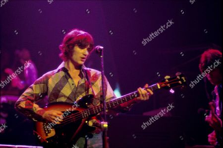 Rick Danko with the Band Performing at the Palladium in NYC