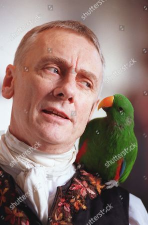 Actor Tom Georgeson Who Plays Long John Silver And Parrot Rajo At The Lyric Theatre Hammersmith In Treasure Island.