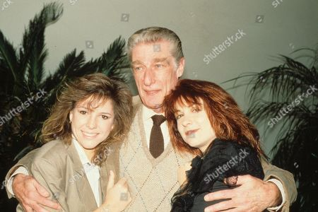 Editorial picture of Kristy Mcnichol with Richard Mulligan and Dinah Manoff