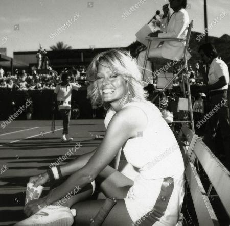 Stock Picture of Farrah Fawcett Majors at Battle of the Network Stars