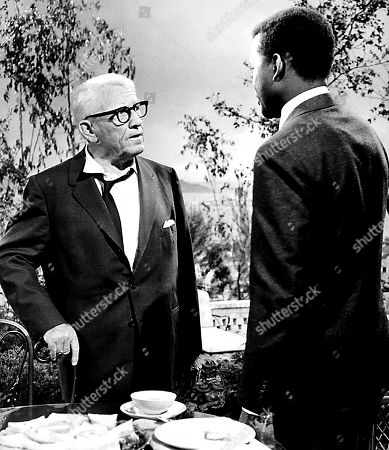 Sidney Poitier and Spencer Tracy in 'Guess Who''s Coming to Dinner'