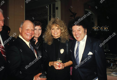 Don Rickles Wife Barbara with Dyan Cannon and Marty Allen 12-1987