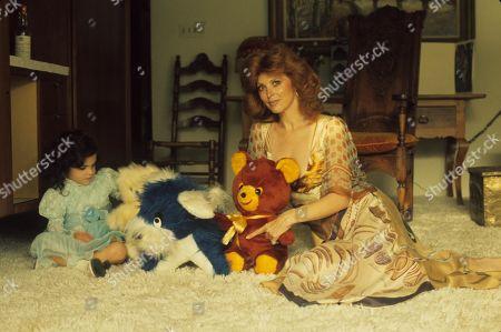 Stock Image of Tina Louise with Daughter Caprice Crane