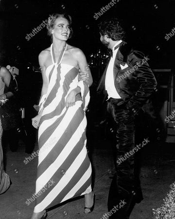 Editorial image of Margaux Hemingway and Errol Wetson