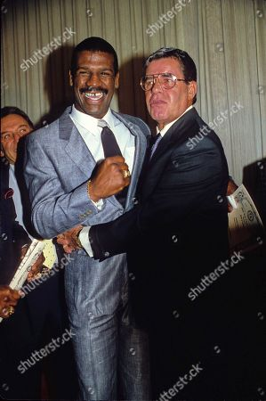 Michael Spinks and Jerry Lewis