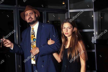 Christopher Coppola and Sofia Coppola1993