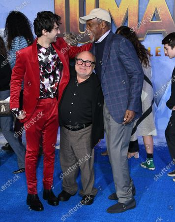 Alex Wolff, Danny DeVito and Danny Glover
