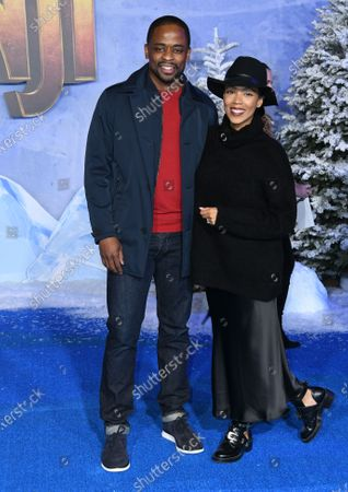 Stock Picture of Dule Hill and Jazmyn Simon