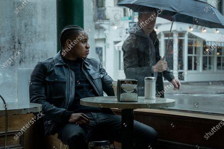 Rotimi Akinosho Dre and Shane Johnson as Cooper Saxe