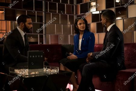 Omari Hardwick as James 'Ghost' St. Patrick, Cynthia Addai-Robinson as Ramona Garrity and Larenz Tate as Councilman Tate