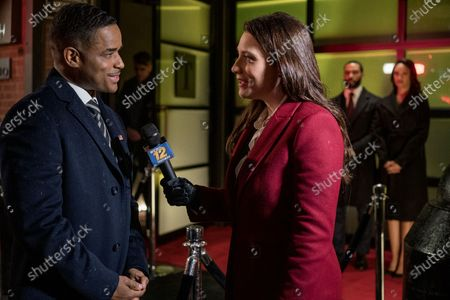 Larenz Tate as Councilman Tate, Mallory Hoff as TV News Reporter, Omari Hardwick as James 'Ghost' St. Patrick and Cynthia Addai-Robinson as Ramona Garrity