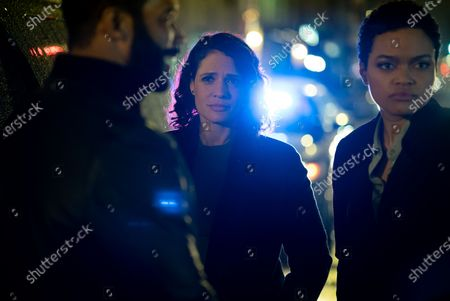Omari Hardwick as James 'Ghost' St. Patrick, Monique Gabriela Curnen as Det. Blanca Rodriguez and Danielle Davenport as Detective McCall