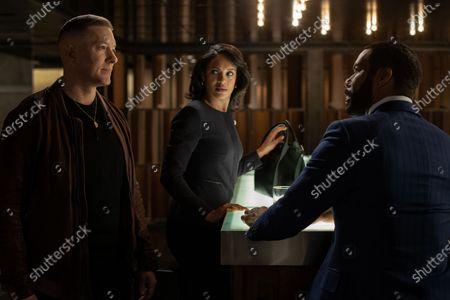 Joseph Sikora as Tommy Egan, Cynthia Addai-Robinson as Ramona Garrity and Omari Hardwick as James 'Ghost' St. Patrick
