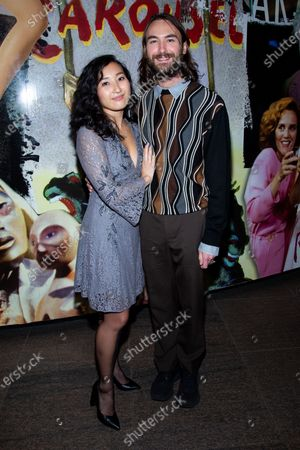 Stock Photo of Sumi Yu and Sean Parker