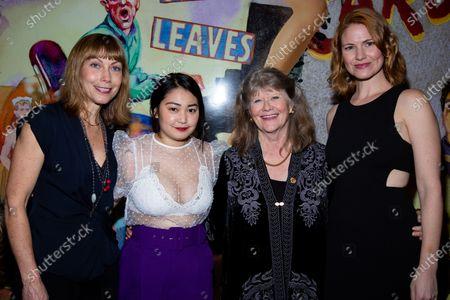 Nina Hellman, Haley Sakamoto, Judith Ivey and Kate MacCluggage