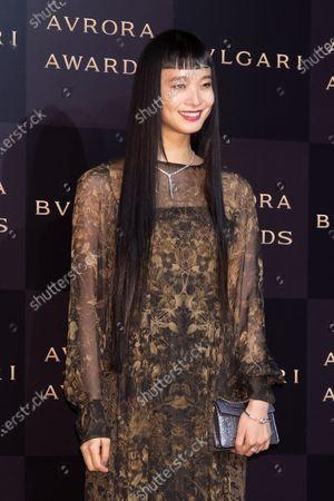 Editorial picture of BVLGARI Avrora Awards, Urayasu City, Japan - 10 Dec 2019