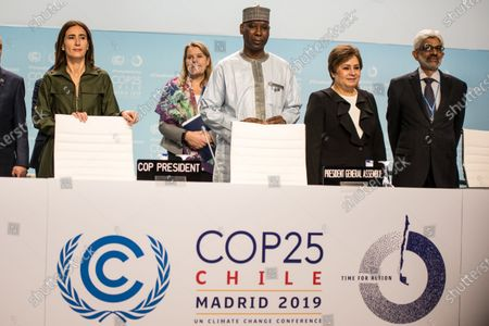 Editorial picture of COP25 UN Climate Change Conference, Madrid, Spain - 10 Dec 2019