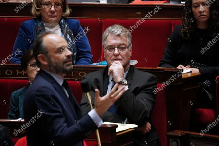 Editorial image of Questions to the Government at Parliament, Paris, France - 10 Dec 2019