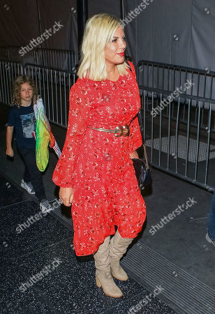 Editorial photo of Tori Spelling and Dean McDermott out and about, Los Angeles, USA - 09 Dec 2019