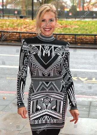 Editorial image of TRIC Awards Christmas Lunch, arrivals, Grosvenor House Hotel, London, UK - 10 Dec 2019