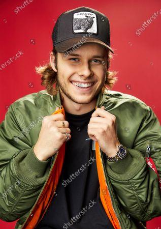 Editorial image of KIIS-FM iHeartRadio Jingle Ball, Backstage Portrait Studio, Los Angeles, USA - 06 Dec 2019