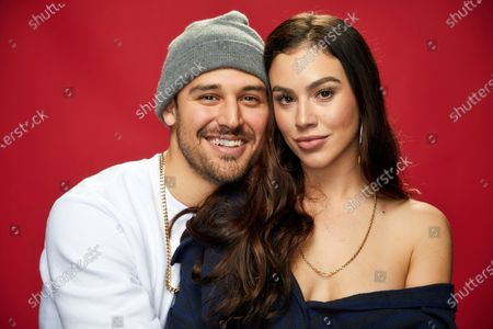 Stock Image of Ryan Guzman and Chrysti Ane