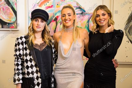 Rosie Fortescue, Sophie Tea and Ashley Louise James