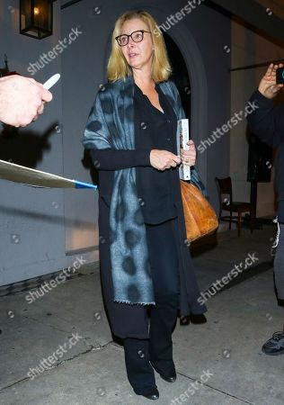 Lisa Kudrow outside Craig's Restaurant in West Hollywood