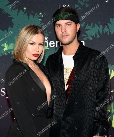 Stock Image of Serena Kerrigan and Andrew Warren